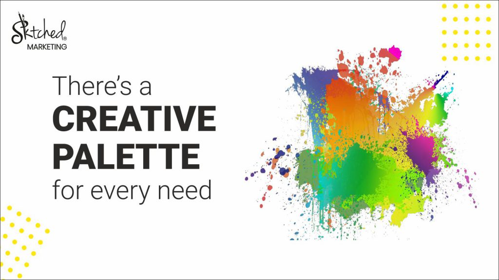 our range of creative services